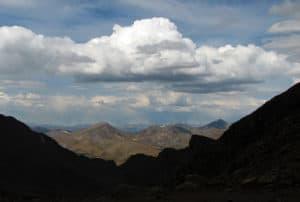 mt evans summit view