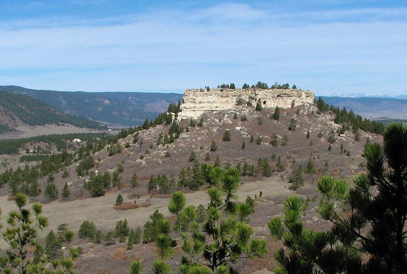spruce mountain hikes near larkspur eagle mountain view north