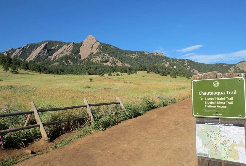 First and Second Flatirons Hike in Boulder