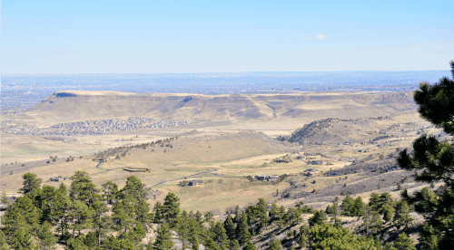 White Ranch Loop View of North Table Mountain