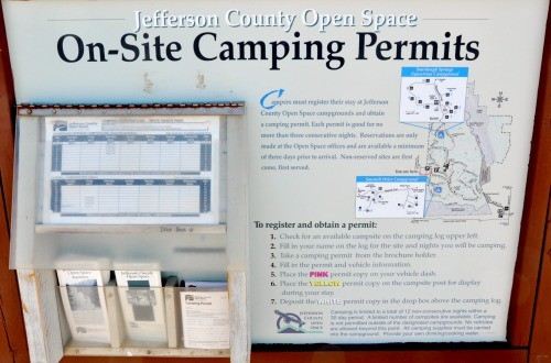 White Ranch Camping Permits