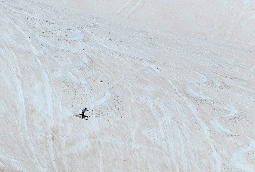 st marys glacier near idaho springs skiing june