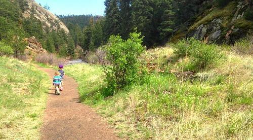 pine valley ranch park narrow gauge trail