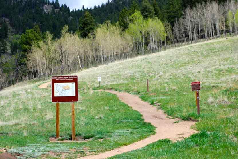Blue Grouse Trailhead Golden Gate Colorado