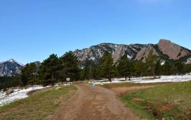 enchanted mesa hike in boulders chautauqua park