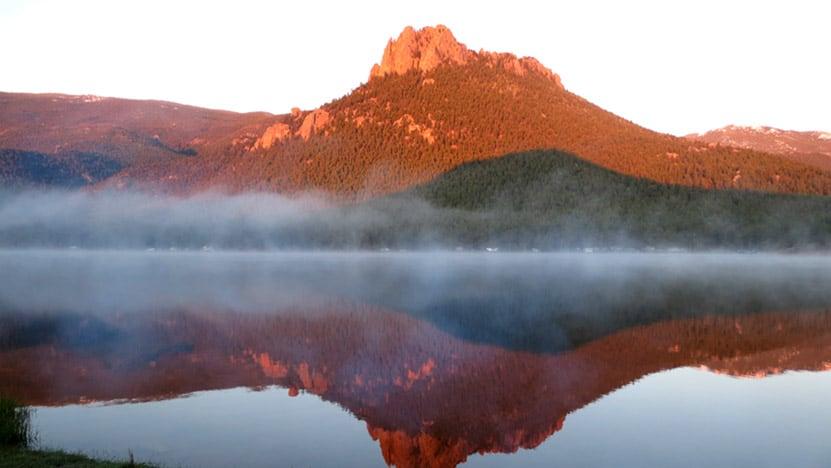 wellington-lake-sunrise