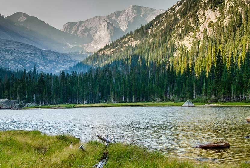jewel lake rocky mountain national park header