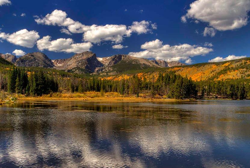 Sprague Lake Loop in Rocky Mountain National Park
