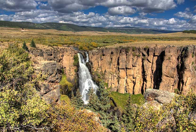 North Clear Creek Falls Near Lake City, Colorado
