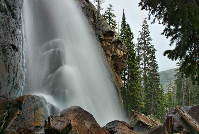 Ouzel Falls in Rocky Mountain National Park