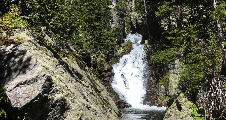 Ypsilon Falls in Rocky Mountain National Park Ypsilon Hike