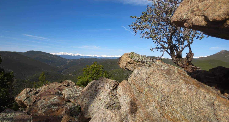 windy peak golden gate canyon state park header