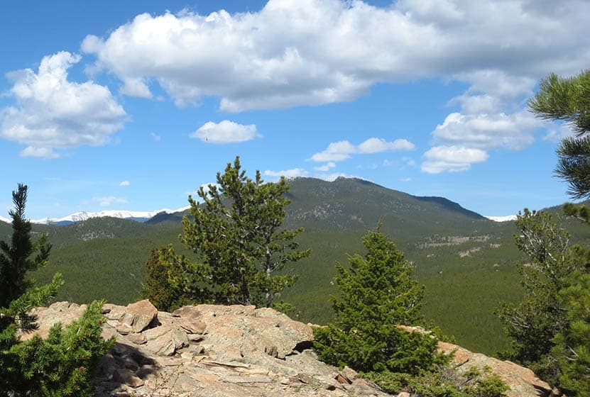 windy peak golden gate canyon state park another summit view