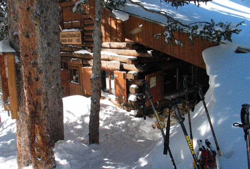 colorado mountain club cabin at brainard lake near ward colorado