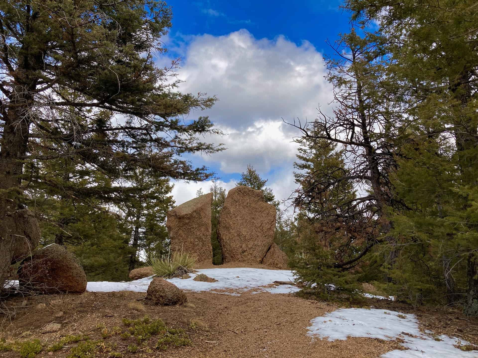 rock formation mount buckhorn