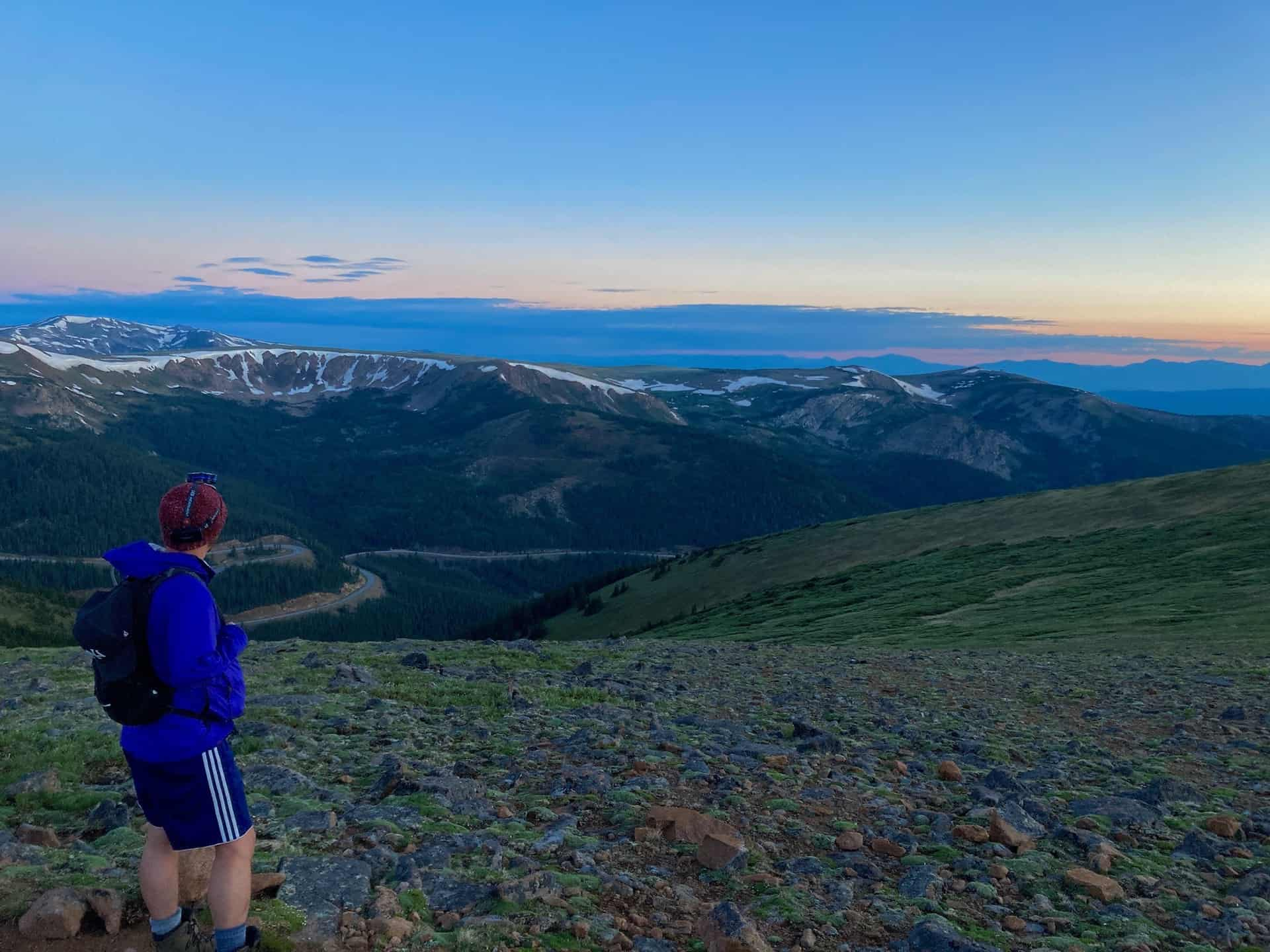 mt. flora trail ridge