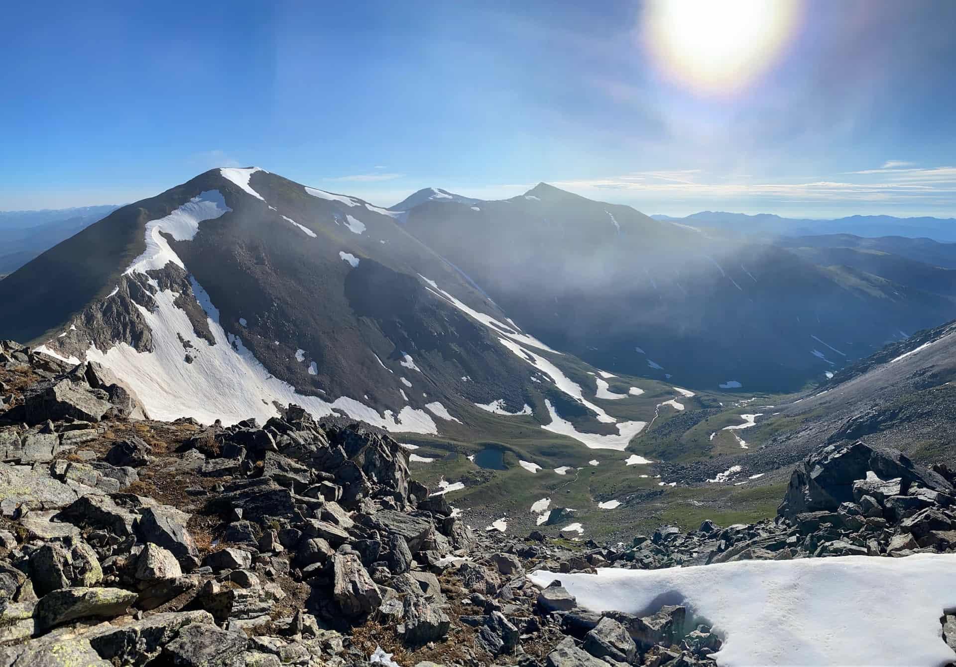 mt. eva viewing parry peak